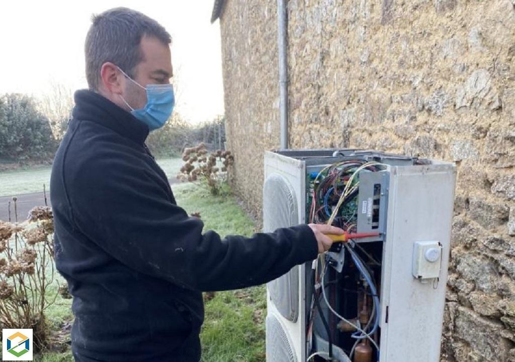 Dépannage pompe à chaleur airpac sanyo erreur P29
