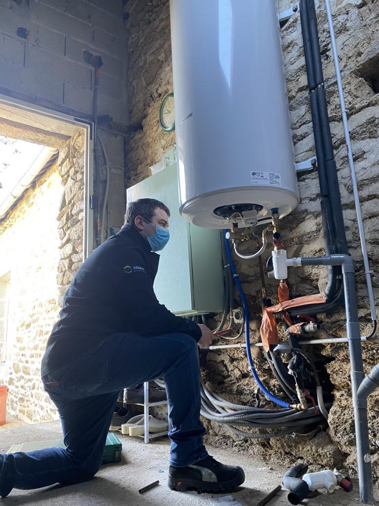 remplacement ballon d'eau chaude-Morbihan (56)