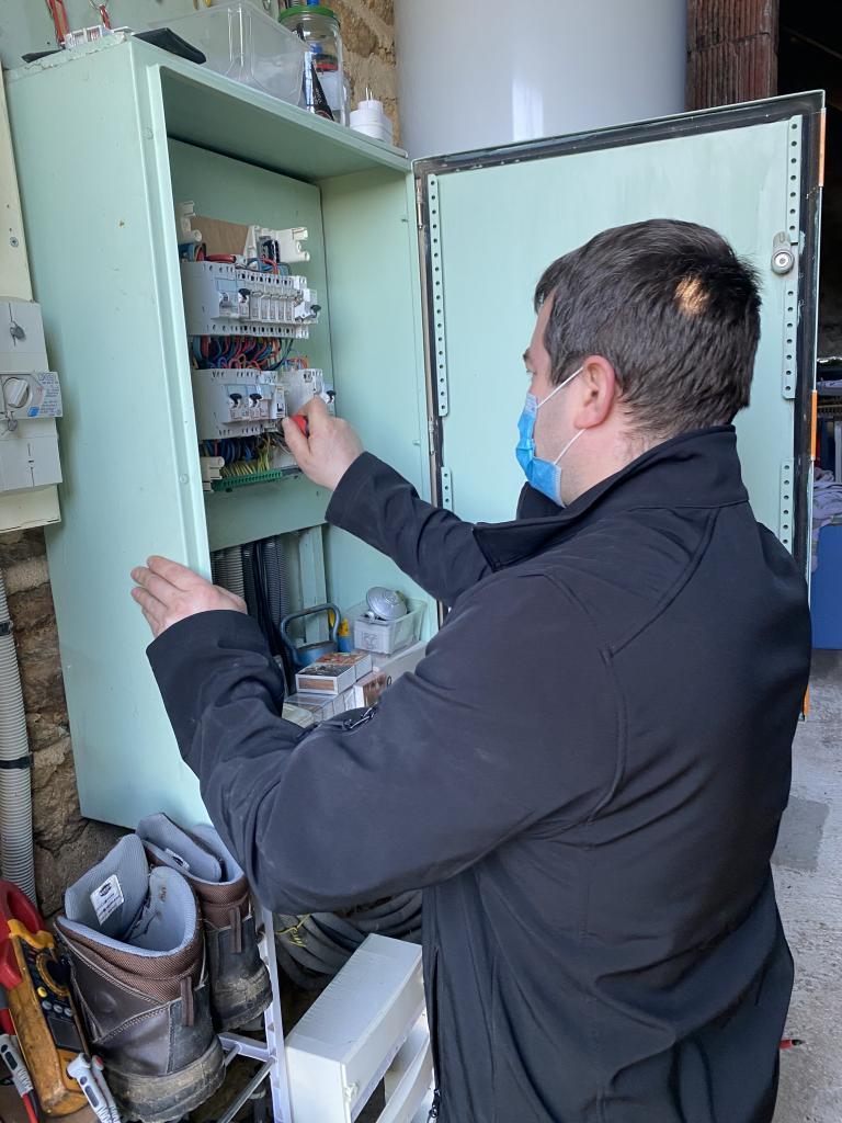 contrôle tableau électrique -Morbihan (56)