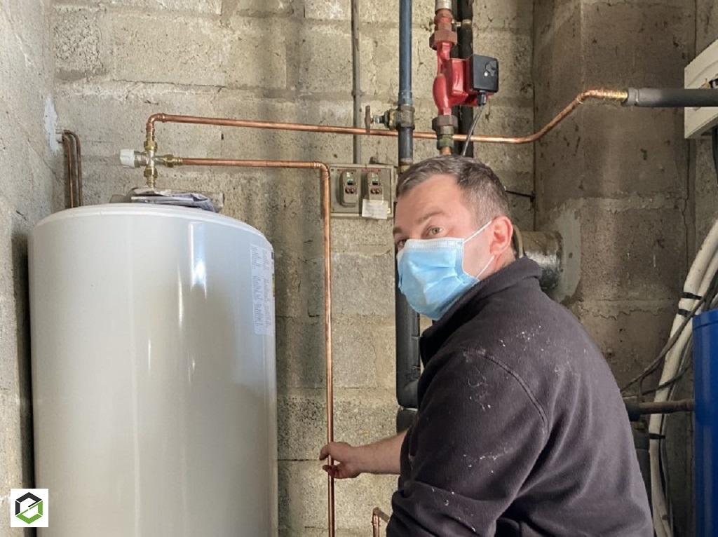 installation d'un chauffe-eau électrique thermor