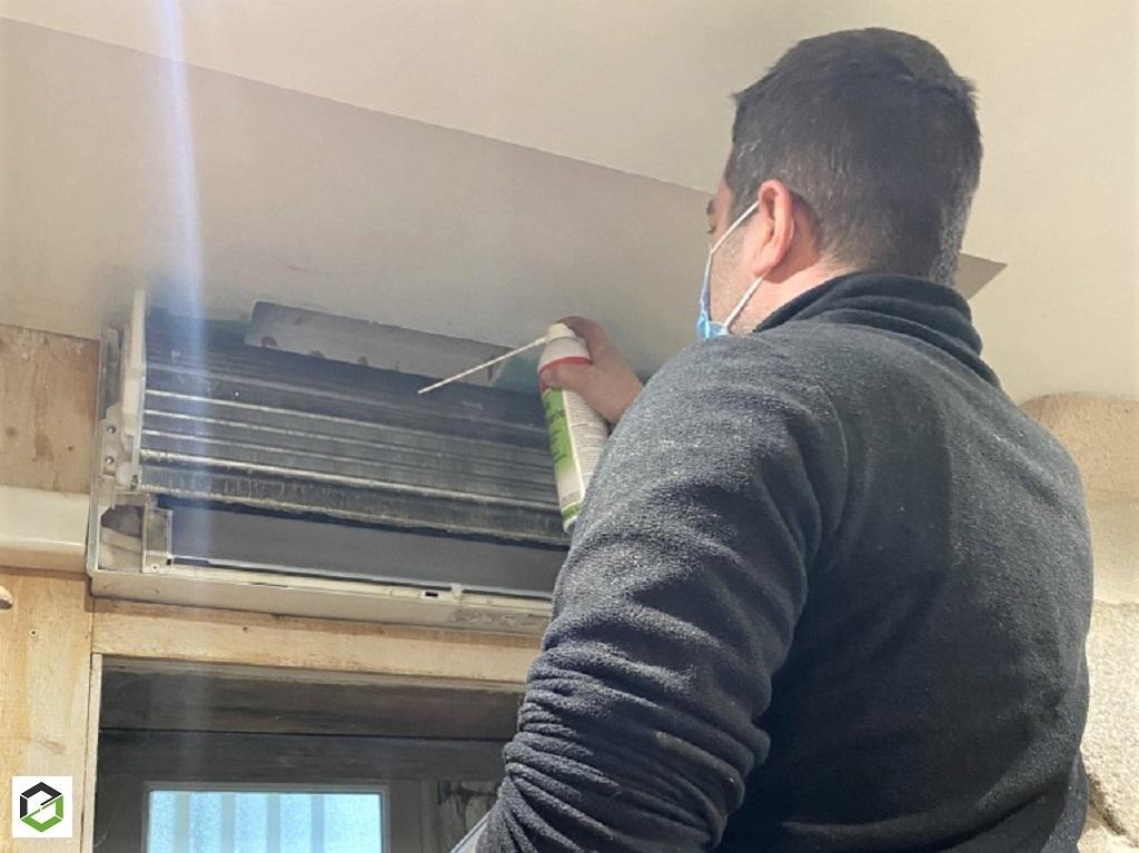 Maintenance d'une pompe à chaleur réversible air air-Morbihan (56)
