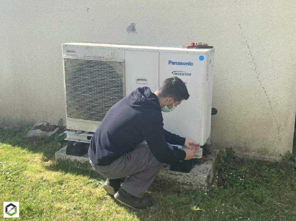 Entretien pompe à chaleur chaleur Panasonic