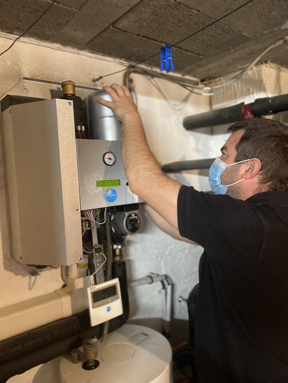 Intervention pompe à chaleur airpac