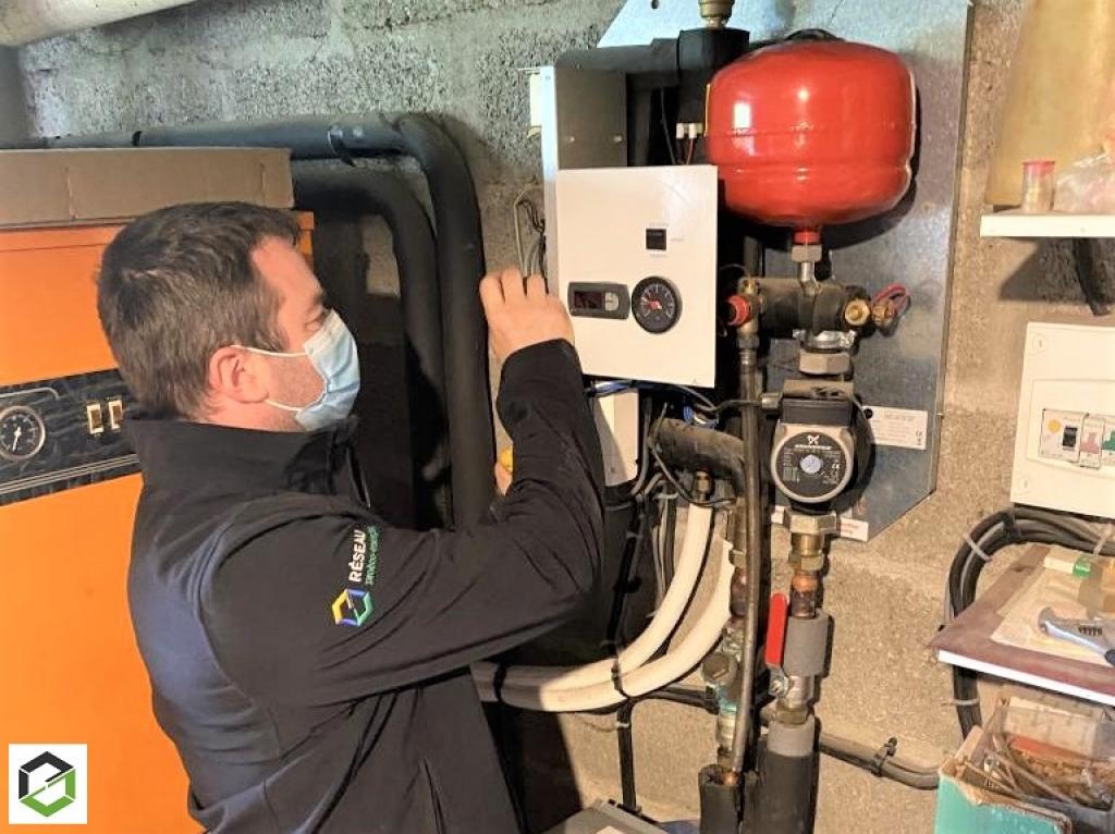 Contrôle annuel pompe à chaleur Airpac-Morbihan (56)