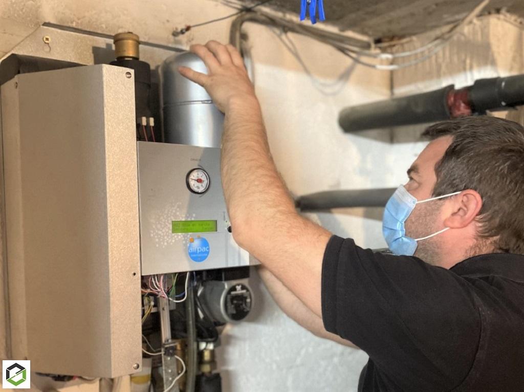 Intervention pompe à chaleur airpac-Morbihan (56)