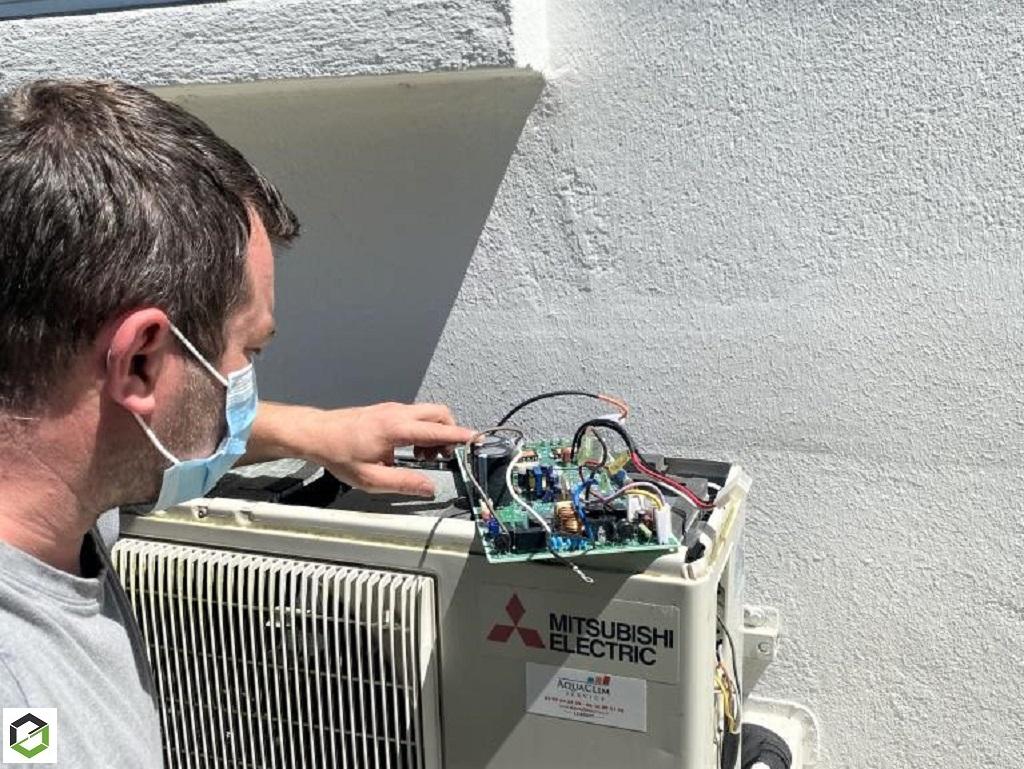 Dépannage pompe à chaleur mitsubishi electric