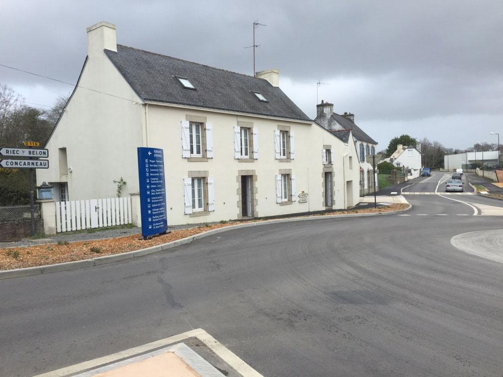 Installation Pompe à chaleur ( PAC ) Airpac à Moelan Sur Mer  29 FINISTERE-Finistère (29)