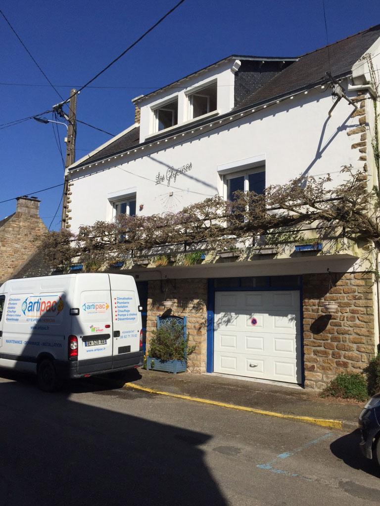 Installation Pompe à Chaleur ( PAC ) Le BONO 56 Morbihan-Morbihan (56)