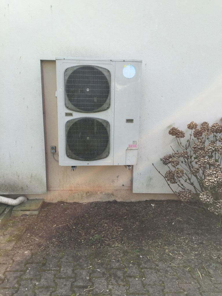 Installation Pompe a chaleur Airpac à Nivillac 56 Morbihan