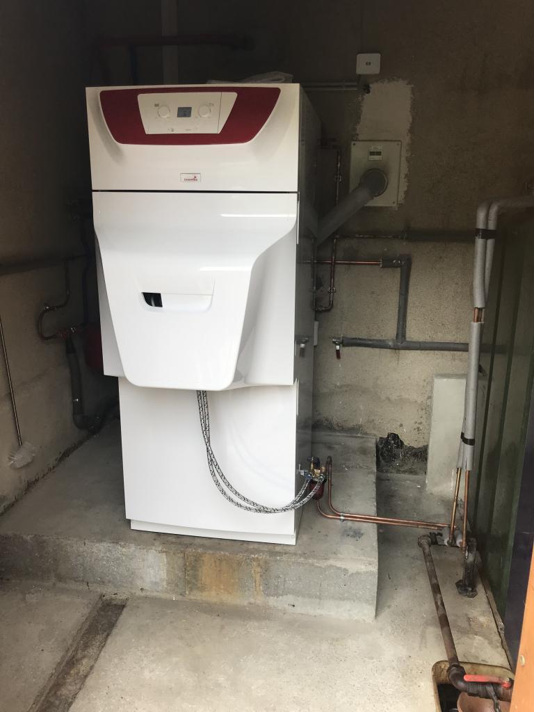 Chaudière FIOUL condensation CHAPPEE - BELLEFONDS - VIENNE 86