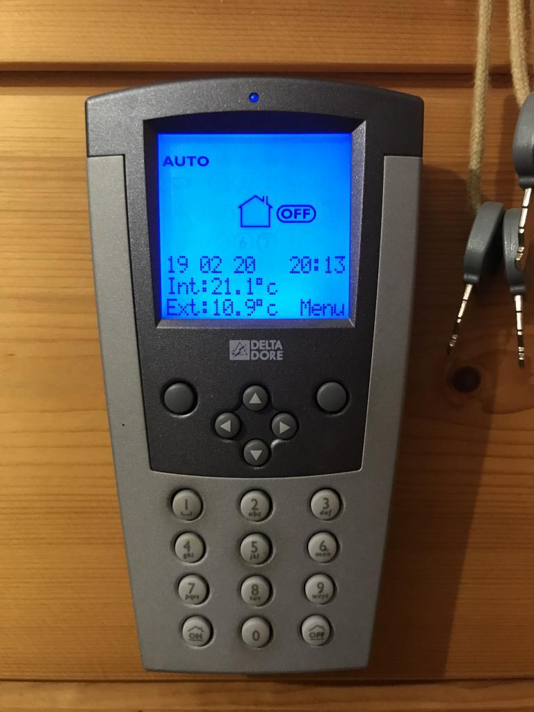 Alarme intrusion DELTA DORE dans une habitation à SAINT JULIEN L'ARS - VIENNE - 86