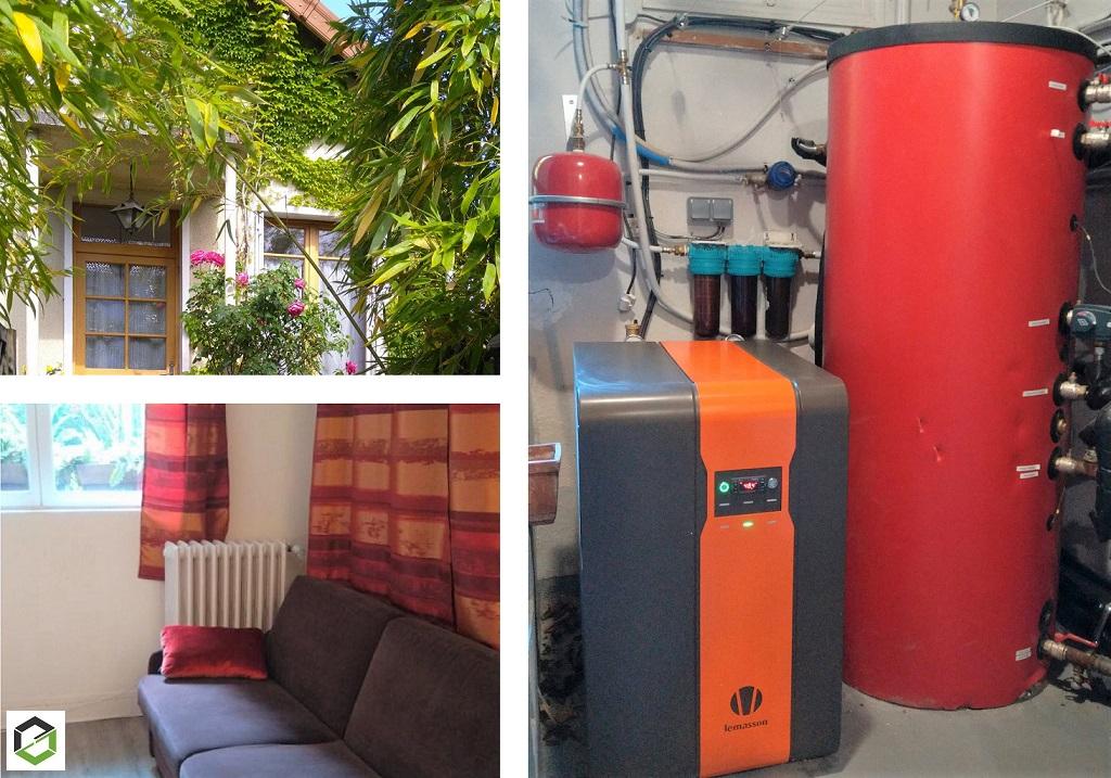Pompe à chaleur géothermique sur nappe phréatique