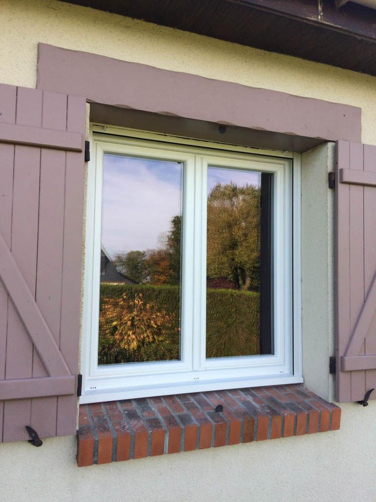 Fenêtre Pvc, coulissant en aluminium , porte bel'm