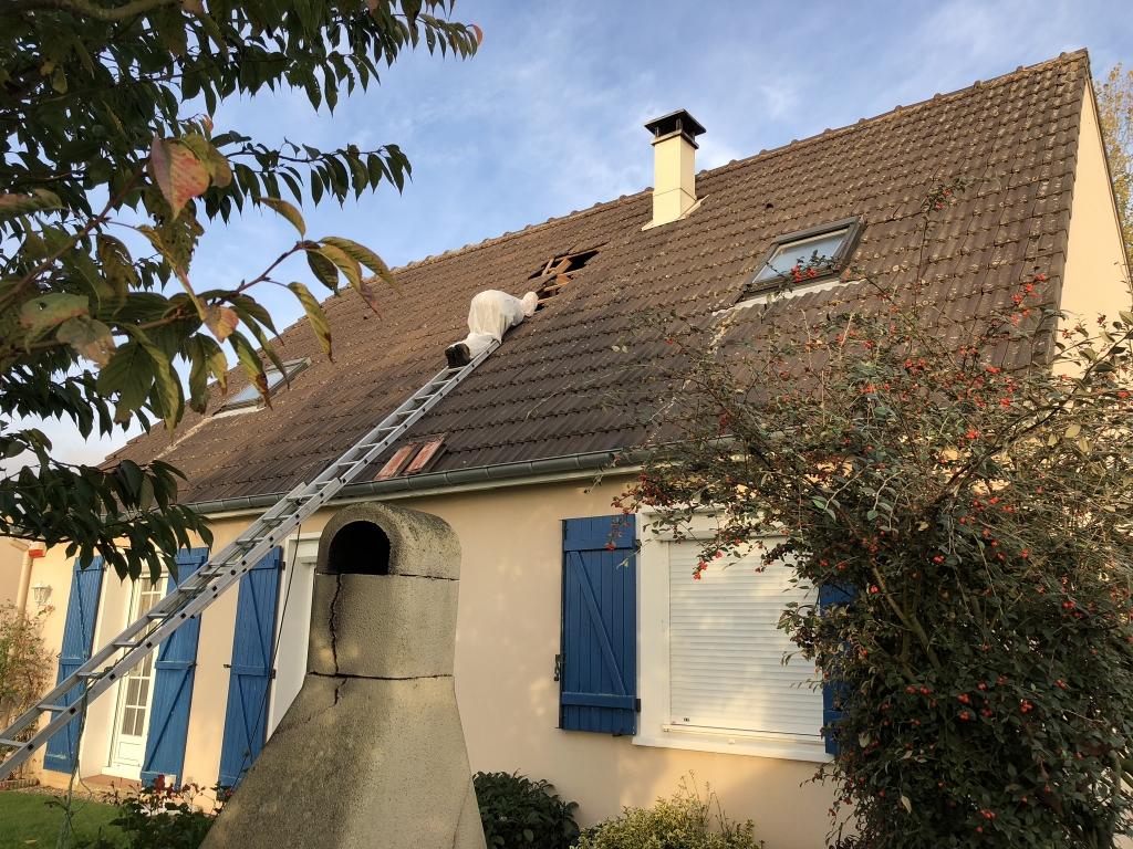 Isolation de combles perdus par soufflage , artisan Rge et Reno expert , secteur Yerville / Pavilly , 76 -Seine Maritime (76)