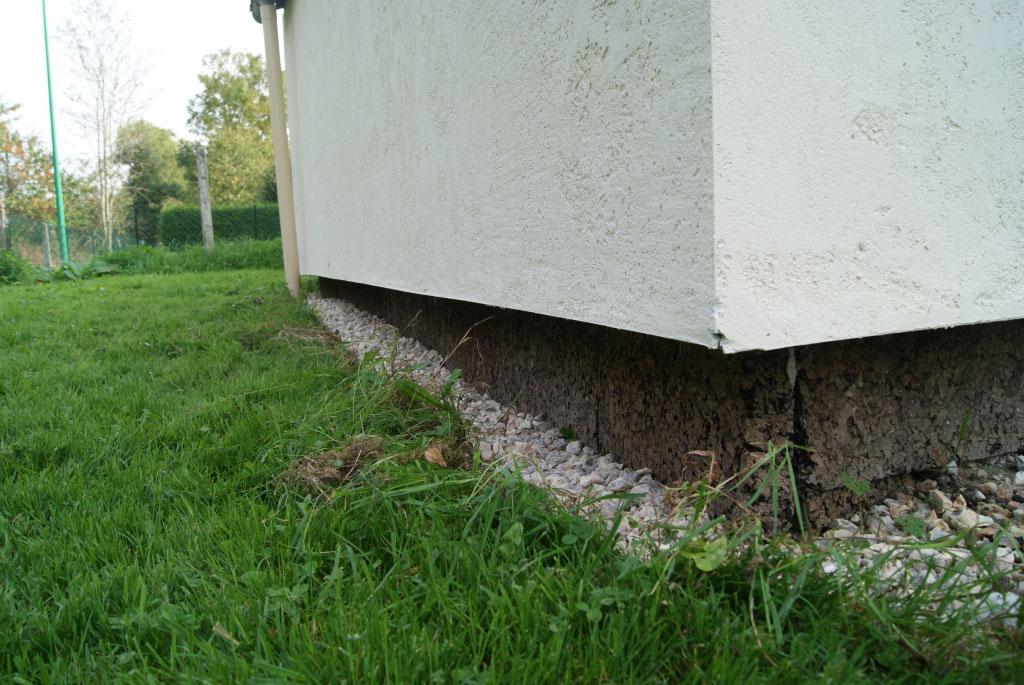 Isolation thermique par extérieure en fibre de bois / laine de bois  finition enduit, secteur Yerville / Tôtes , 76