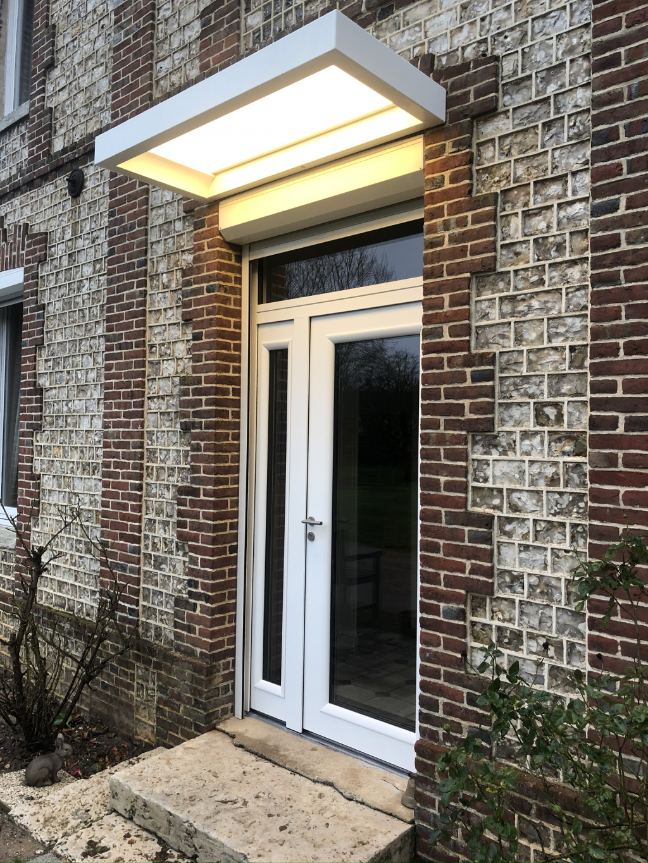 Installation porte d'entrée Bel'm, secteur Yvetot, 76-Seine Maritime (76)