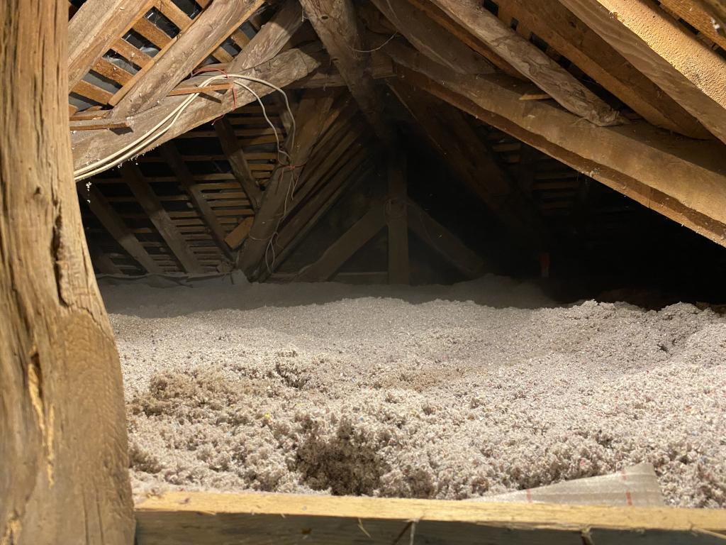 Isolation de combles en ouate de cellulose-Seine Maritime (76)