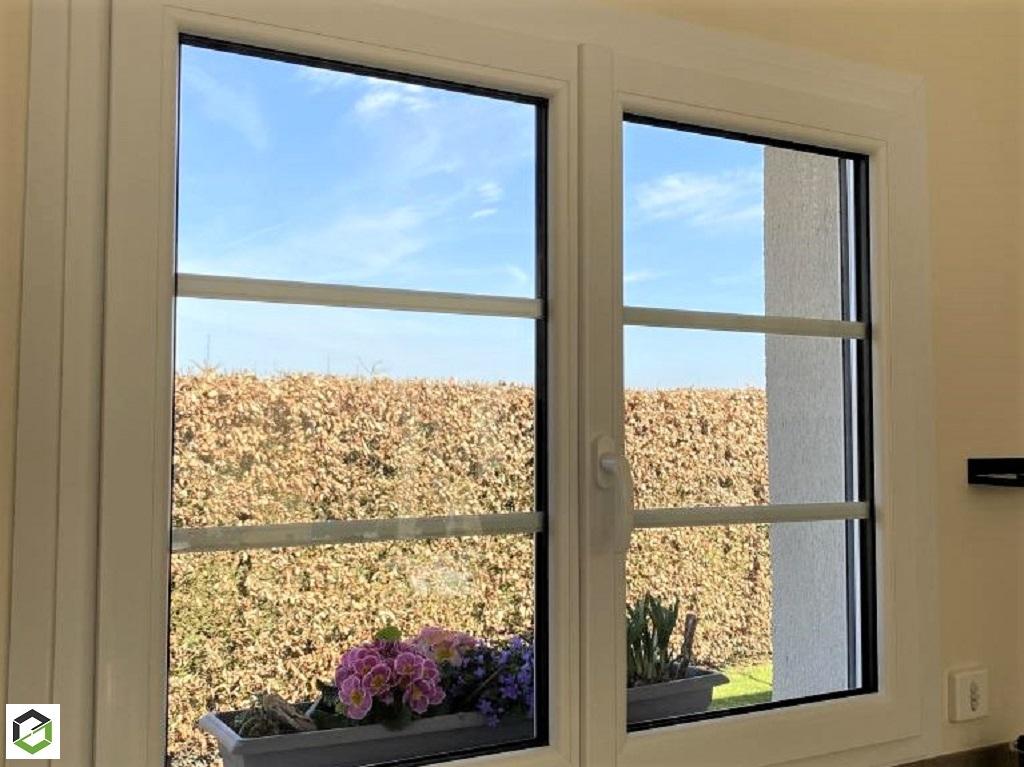 Installation de fenêtre PVC