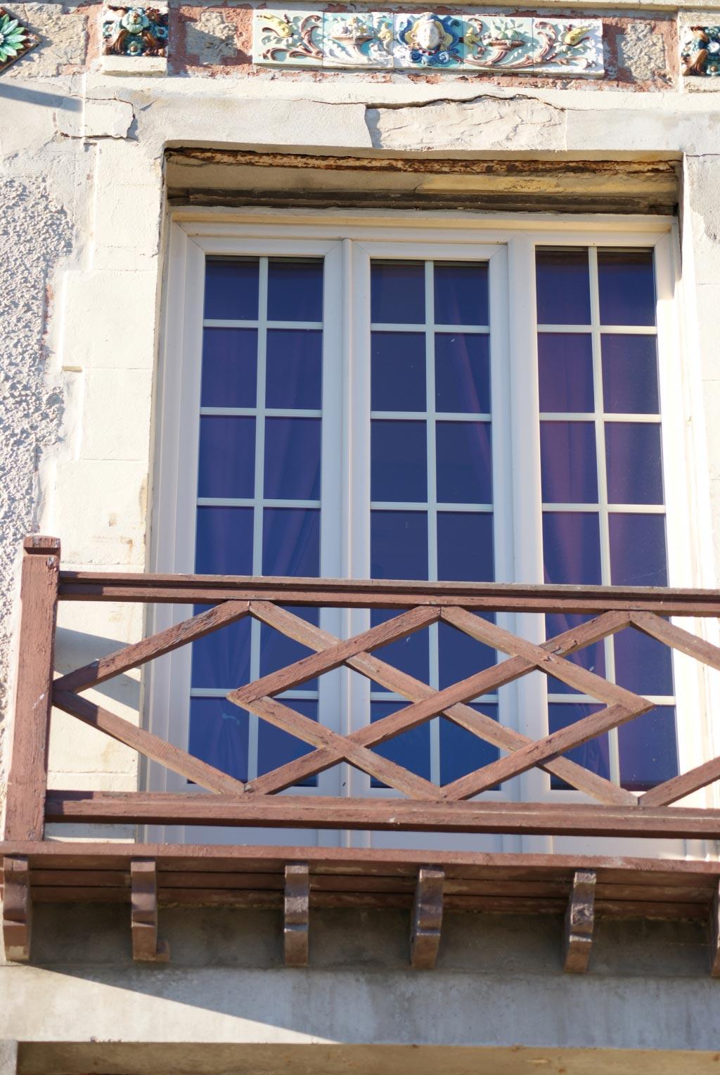 Fenêtre Pvc beige Gamme baie