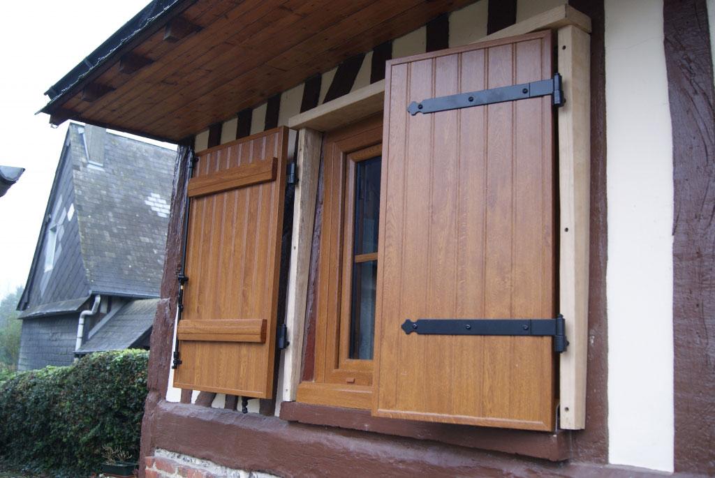 Fenêtres et volets battants PVC Gamme Baie -Seine Maritime (76)