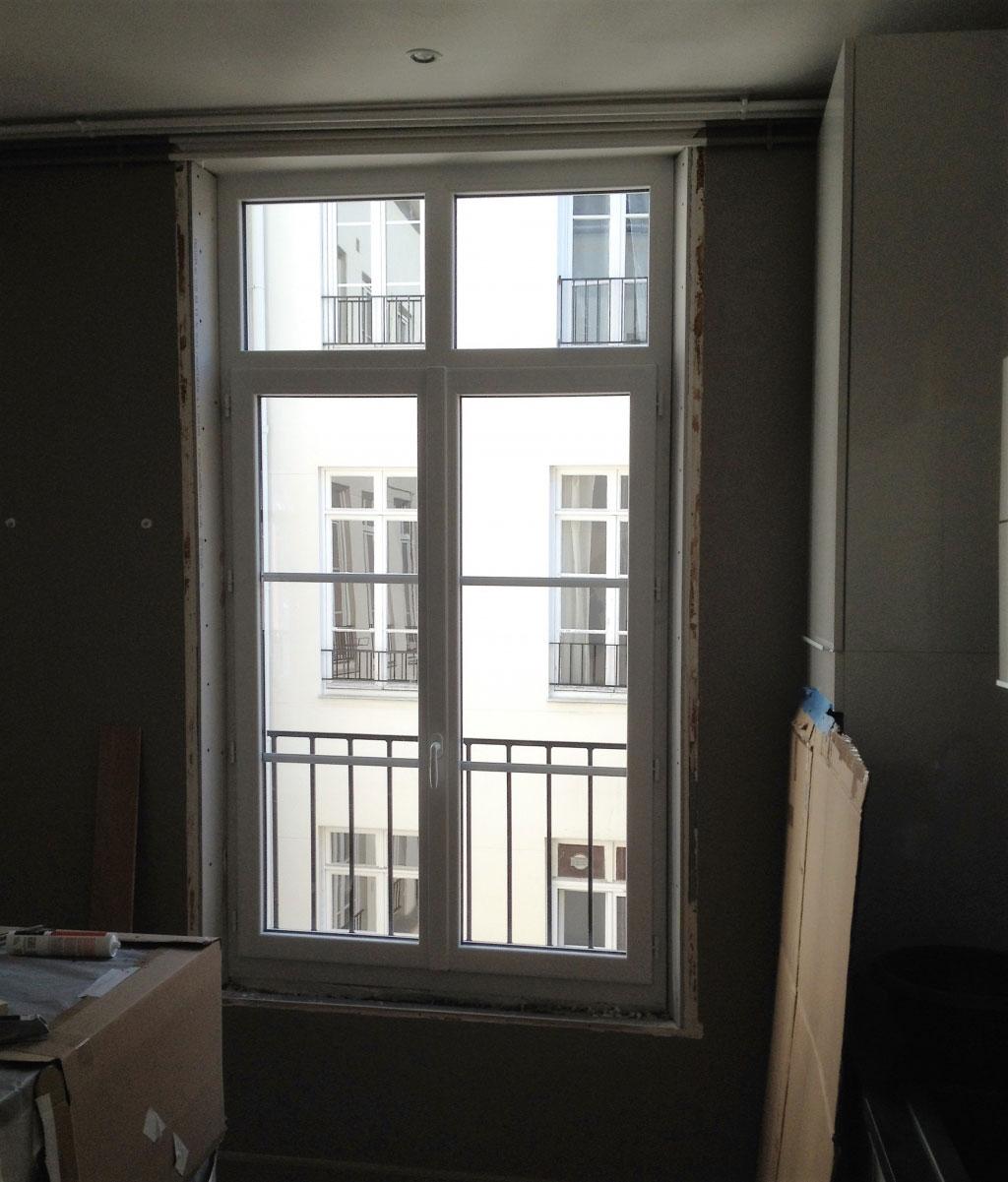 Fenêtre Pvc blanche acoustique Seine-maritime