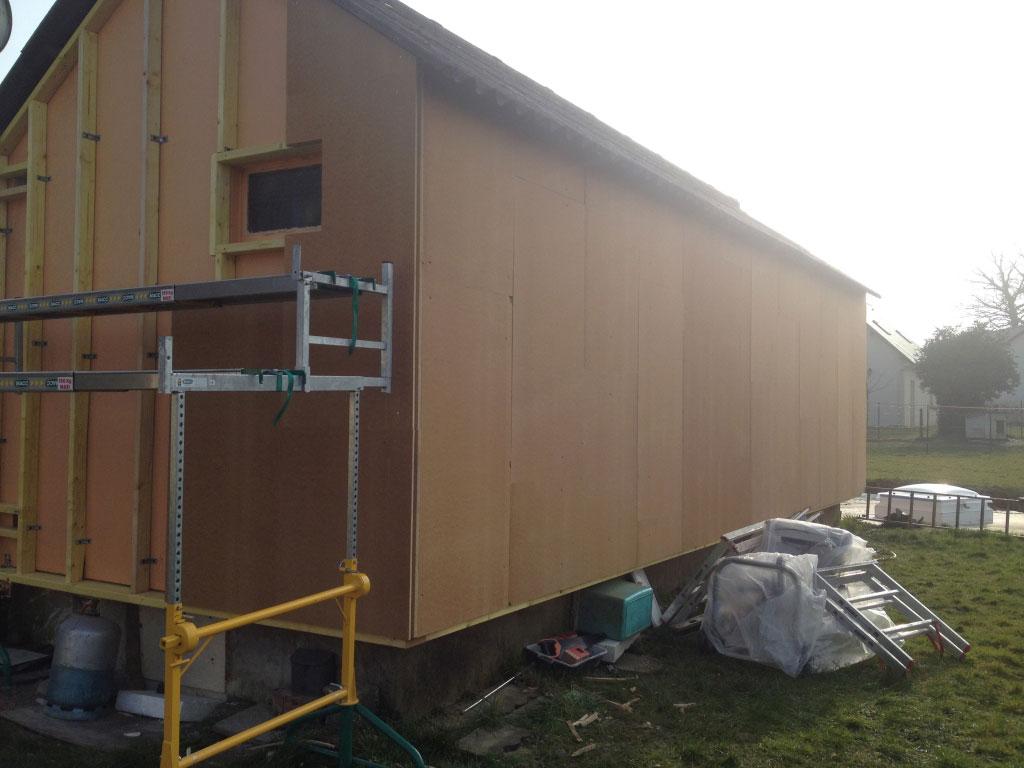 Installation / pose , Isolation Thermique par l'extérieure en matériaux naturels par entreprise Rge , secteur Yerville / Doudeville,  76 Seine-Maritime