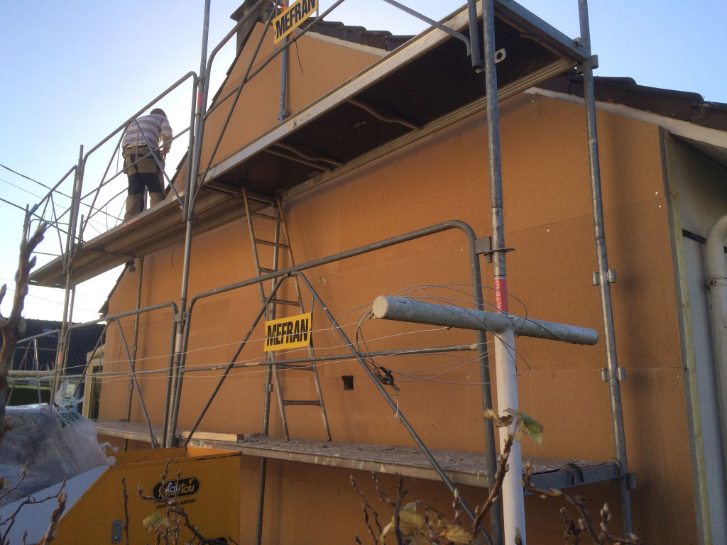 Installation / pose , Isolation thermique par l'extérieur par entreprise Rge , Duclair,  76 Seine Maritime-Seine Maritime (76)