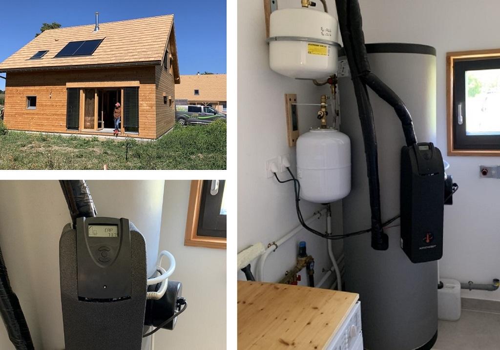 Installation Chauffe-eau solaire (CESI)  Qualisol