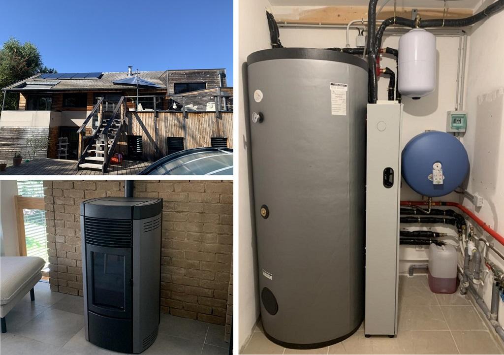 Installateur chauffage solaire combiné SOLISART à Vaulnaveys le Haut