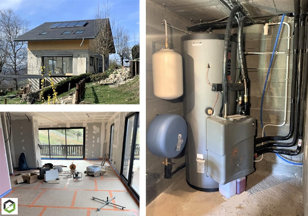 installation chauffage solaire (ssc) thermique solisart installateur rge qualisol