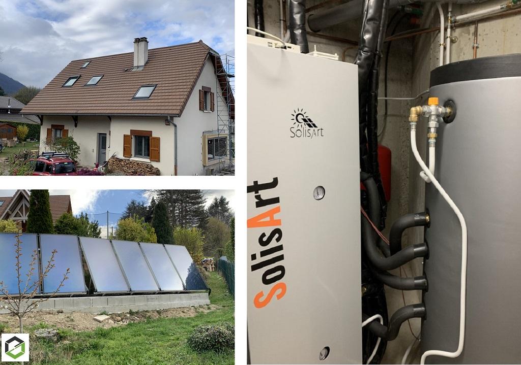 Installateur chauffage solaire thermique Solisart Qualisol