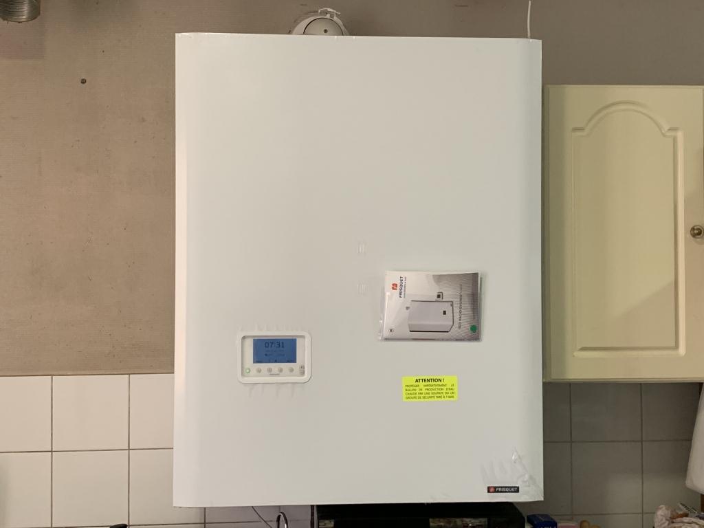 Chaudière Gaz propane Hydroconfort à condensation Frisquet