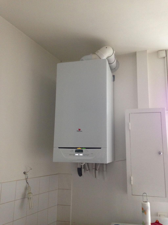 Chaudière Gaz naturel à condensation Saunier Duval Isotwin à Villefranche sur Saône - 69 Rhône