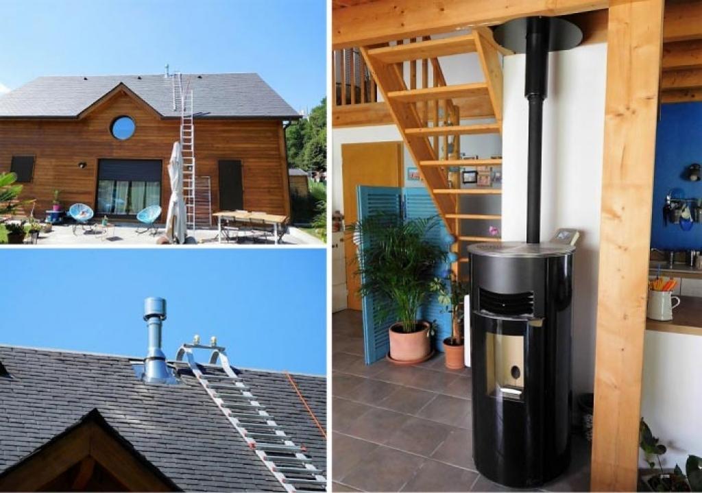 Poêle à granulés de bois - installation, entretien - Artisan RGE Qualibois - Energies renouvelables