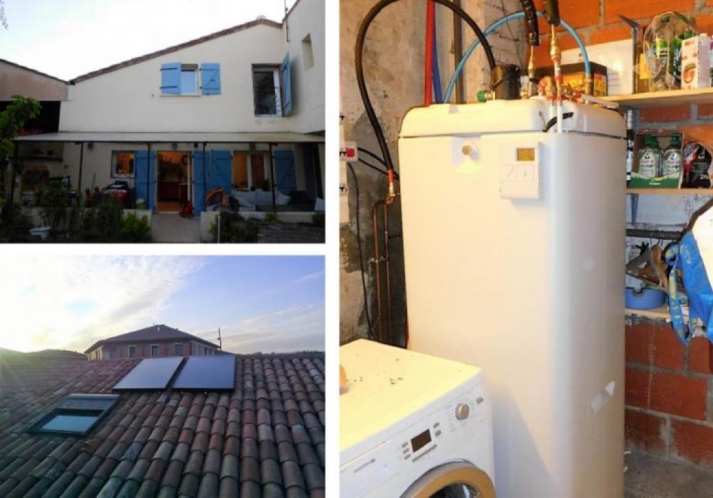 Chauffe eau solaire - hautes pyrénées - RGE Qualisol