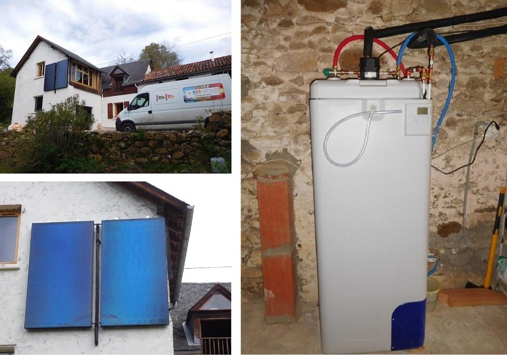 Chauffe eau solaire - RGE Qualisol-Hautes Pyrénées (65)