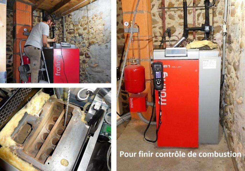 Entretien annuel chaudière à granulés - Hautes Pyrénées - Chauffage au bois - RGE Qualibois