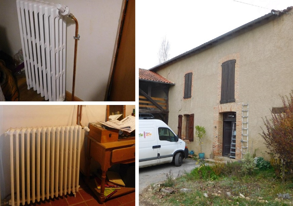 Chauffage central et chaudière à bûches - Hautes Pyrénées