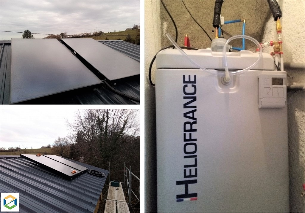 Installation Chauffe eau solaire