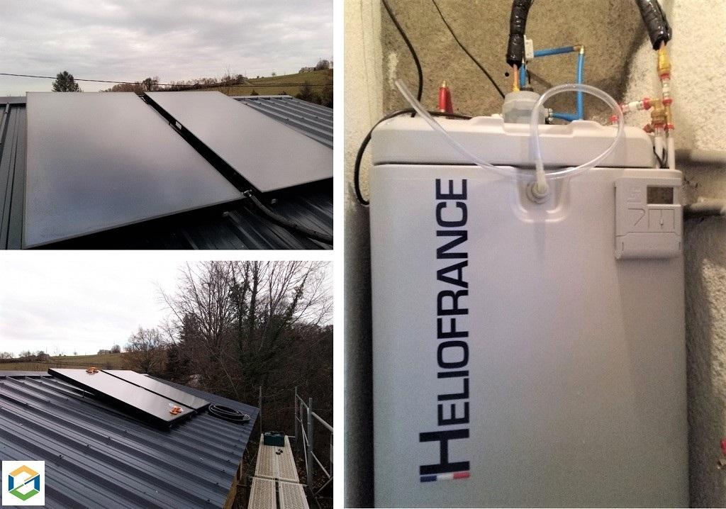 Installation Chauffe eau solaire-Hautes Pyrénées (65)