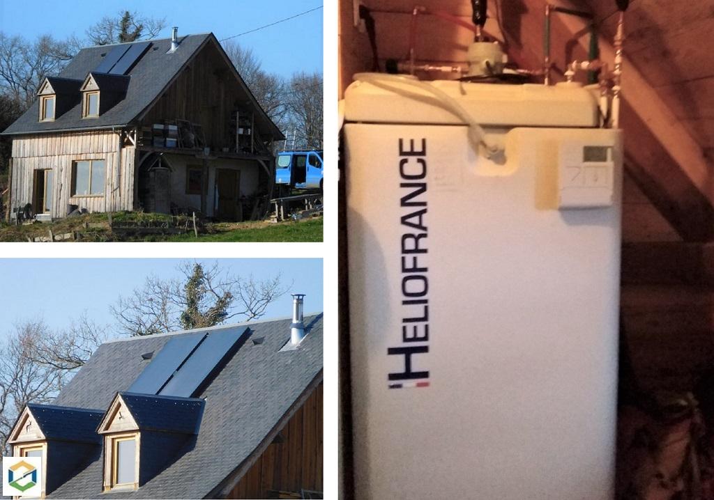 Artisan RGE - Installation de chauffe eau solaire