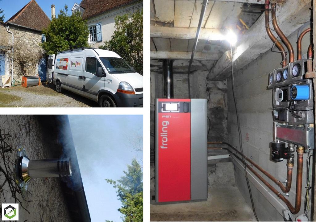 installation Chaudière à Granulés de Bois - remplacement de chaudière (fioul)