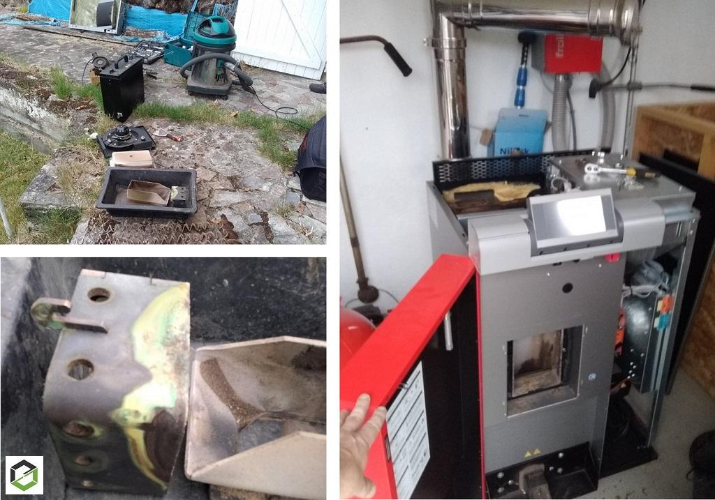 Entretien annuel chauffage au granulés - chaudière à granulés PE1 Froling