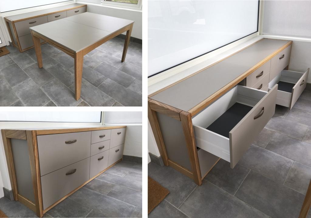 Fabrication et pose de mobilier intérieur véranda