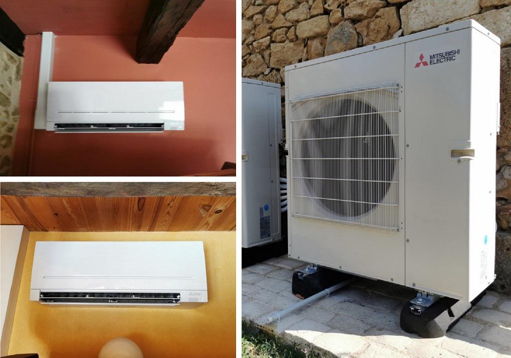Mise en service d une climatisation MITSUBISHI