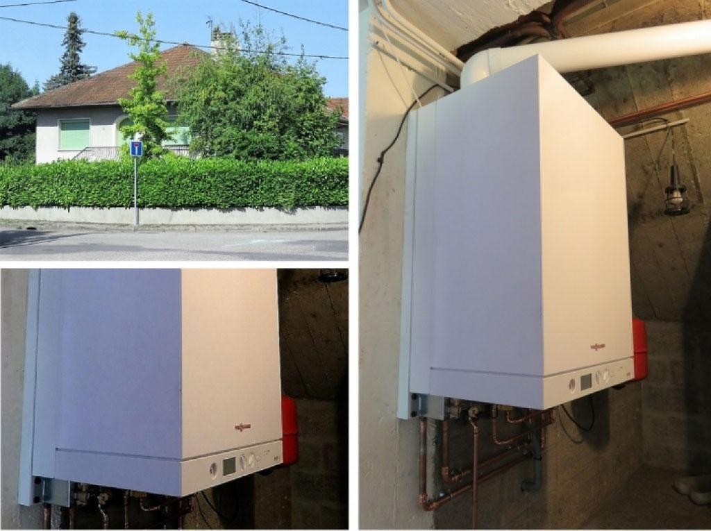 Installation chaudière gaz condensation Viessmann à Bourgoin Jallieu 38 Isère - CAPI-Isère (38)