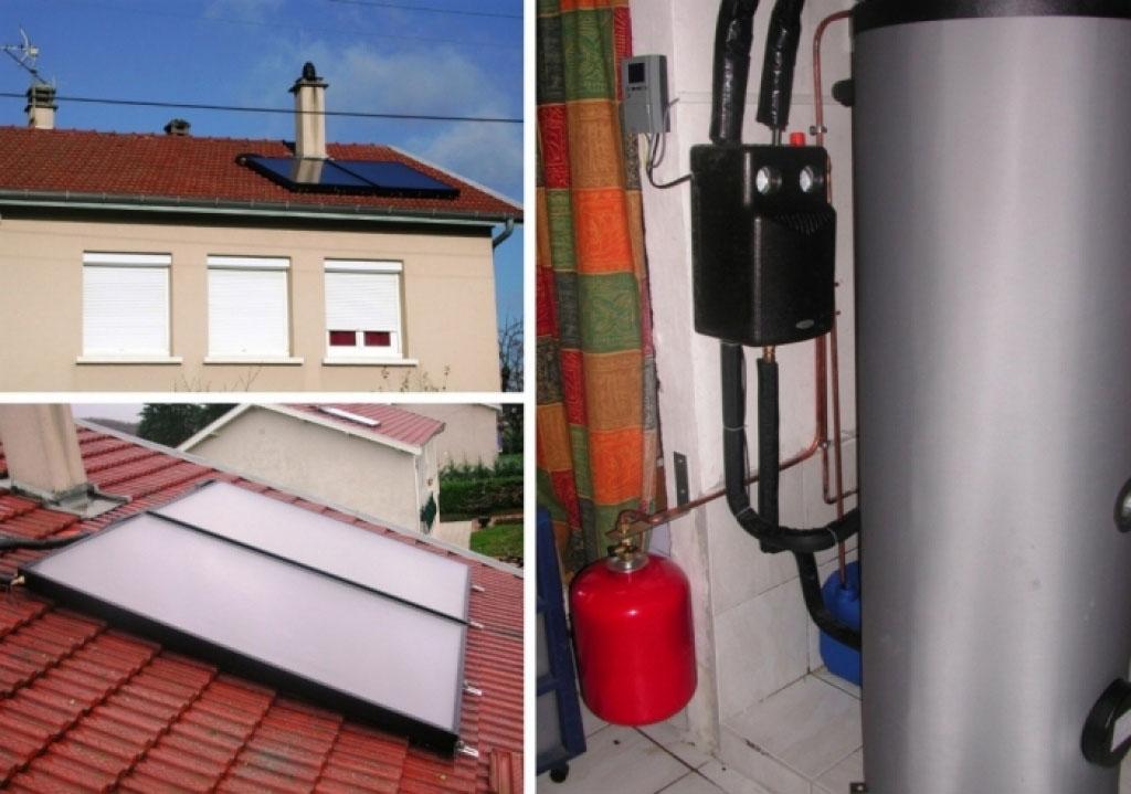 Chauffe eau solaire thermique (CESI) à Saint Quentin Fallavier 38 Isère