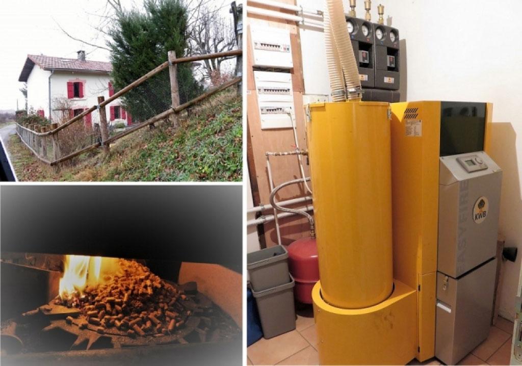 Dépannage chaudière à granulé de bois KWB easyfire à viriville 38