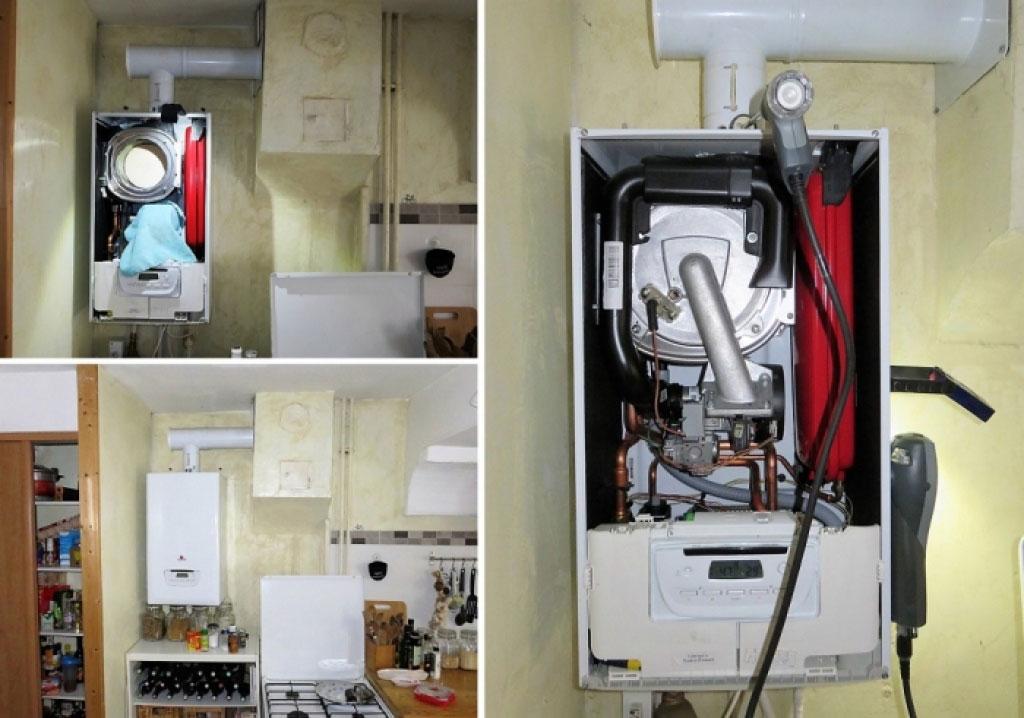 Entretien chaudière gaz à condensation Saunier Duval thema condens F25 à Saint-Quentin-Fallavier