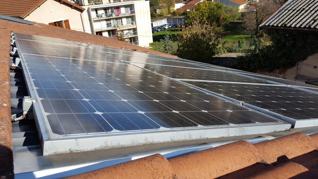Installation photovoltaïque pour production d'électricité en revente totale - kit 2980Wc